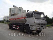 Jiuyuan KP5310GHY chemical liquid tank truck