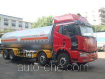 Jiuyuan KP5313GYQ liquefied gas tank truck