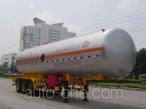 久远牌KP9340GTR型永久气体运输半挂车