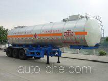 Jiuyuan KP9400GHY chemical liquid tank trailer