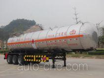 Jiuyuan KP9400GRY flammable liquid tank trailer