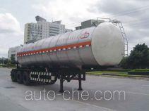 Jiuyuan KP9400GYS liquid food transport tank trailer