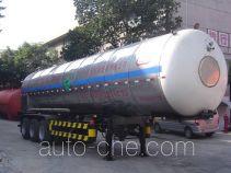 Jiuyuan KP9400GYU carbon dioxide transport tank trailer