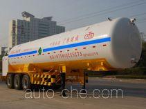 Jiuyuan KP9401GYU carbon dioxide transport tank trailer