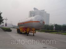 Jiuyuan KP9402GYQ liquefied gas tank trailer