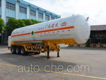 Jiuyuan KP9404GDYNA cryogenic liquid tank semi-trailer