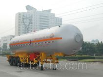 Jiuyuan KP9404GYQ liquefied gas tank trailer