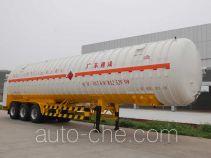 Jiuyuan KP9405GDYTC cryogenic liquid tank semi-trailer