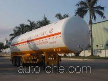 Jiuyuan KP9405GDYTD cryogenic liquid tank semi-trailer