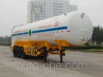 Jiuyuan KP9406GDYYA cryogenic liquid tank semi-trailer