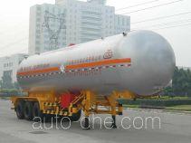 Jiuyuan KP9407GYQAA liquefied gas tank trailer