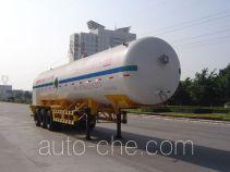 Jiuyuan KP9408GDY cryogenic liquid tank semi-trailer