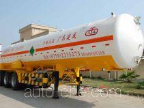 Jiuyuan KP9408GDYAA cryogenic liquid tank semi-trailer