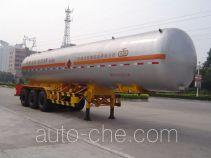 Jiuyuan KP9409GYQ liquefied gas tank trailer