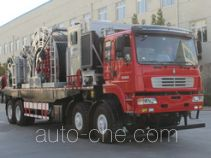 Coil tubing truck