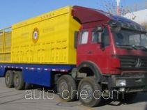 Nitrogen gas booster truck