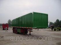 Aotong LAT9330XXY box body van trailer