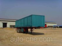 Aotong LAT9340XXY box body van trailer