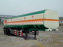 Aotong LAT9400GHY chemical liquid tank trailer