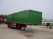 Aotong LAT9401XXY box body van trailer