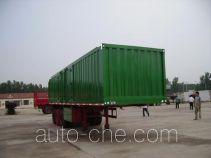 Aotong LAT9402XXY box body van trailer