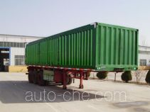 Aotong LAT9403XXY box body van trailer