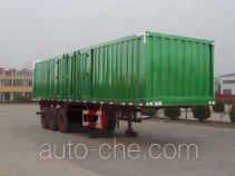 Aotong LAT9404XXY box body van trailer