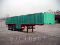 Aotong LAT9405XXY box body van trailer