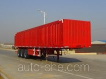 Aotong LAT9407XXY box body van trailer
