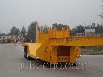 鲁驰牌LC9350TTS型铁水运输半挂车