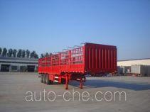 鲁驰牌LC9402CLXE型仓栅式运输半挂车