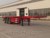 Luchi LC9404TWY dangerous goods tank container skeletal trailer