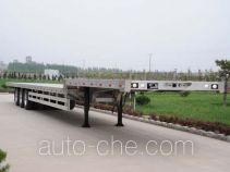 Conglin LCL9402TDP aluminium low flatbed trailer