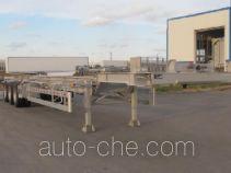 Aluminium container trailer