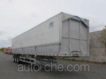 Aluminium wing van trailer
