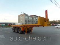 Fuxu Shiye LCX9400ZZXP flatbed dump trailer
