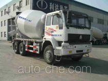 利达牌LD5251GJBN3841C型混凝土搅拌运输车