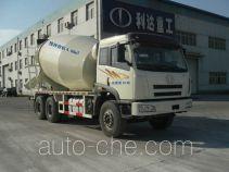 利达牌LD5252GJBP2K2LT1E型混凝土搅拌运输车