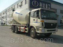 利达牌LD5253GJBXA41型混凝土搅拌运输车