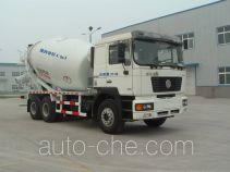 利达牌LD5255GJBS3812型混凝土搅拌运输车