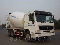 利达牌LD5257GJBN4047D型混凝土搅拌运输车