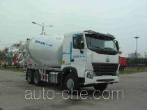 利达牌LD5257GJBN4047N1型混凝土搅拌运输车