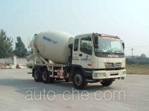 利达牌LD5258GJBA3610H型混凝土搅拌运输车