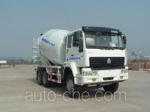 利达牌LD5259GJBM3649W型混凝土搅拌运输车