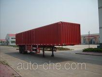 Leader box body van trailer