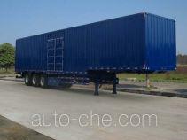 Dongju LDW9400XXY box body van trailer