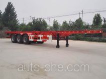 Jiayun LFY9401TWY dangerous goods tank container skeletal trailer