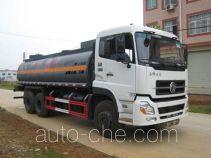 Yunli LG5250GHYD chemical liquid tank truck