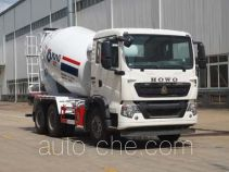 运力牌LG5256GJBZ5型混凝土搅拌运输车