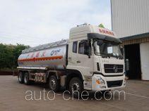 运力牌LG5310GRYD4型易燃液体罐式运输车